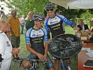 Paul Voss & Andreas Schillinger - Profi-Radrennfahrer